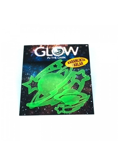 Artikel Gezegenler Fosforlu Duvar Sticker 5 Adet Renkli